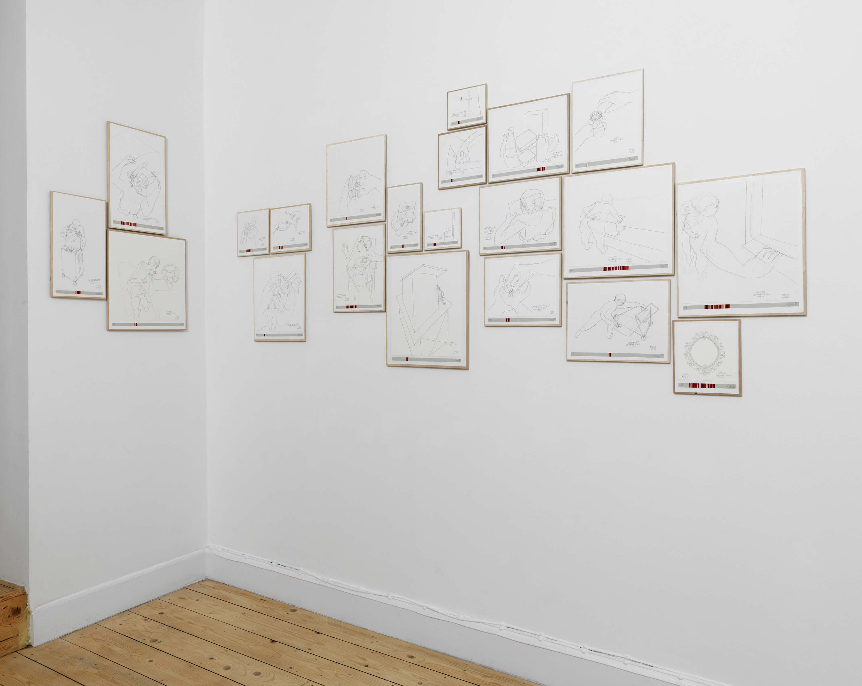 Income's Outcome - Installation shot 04 - Danica Phelps