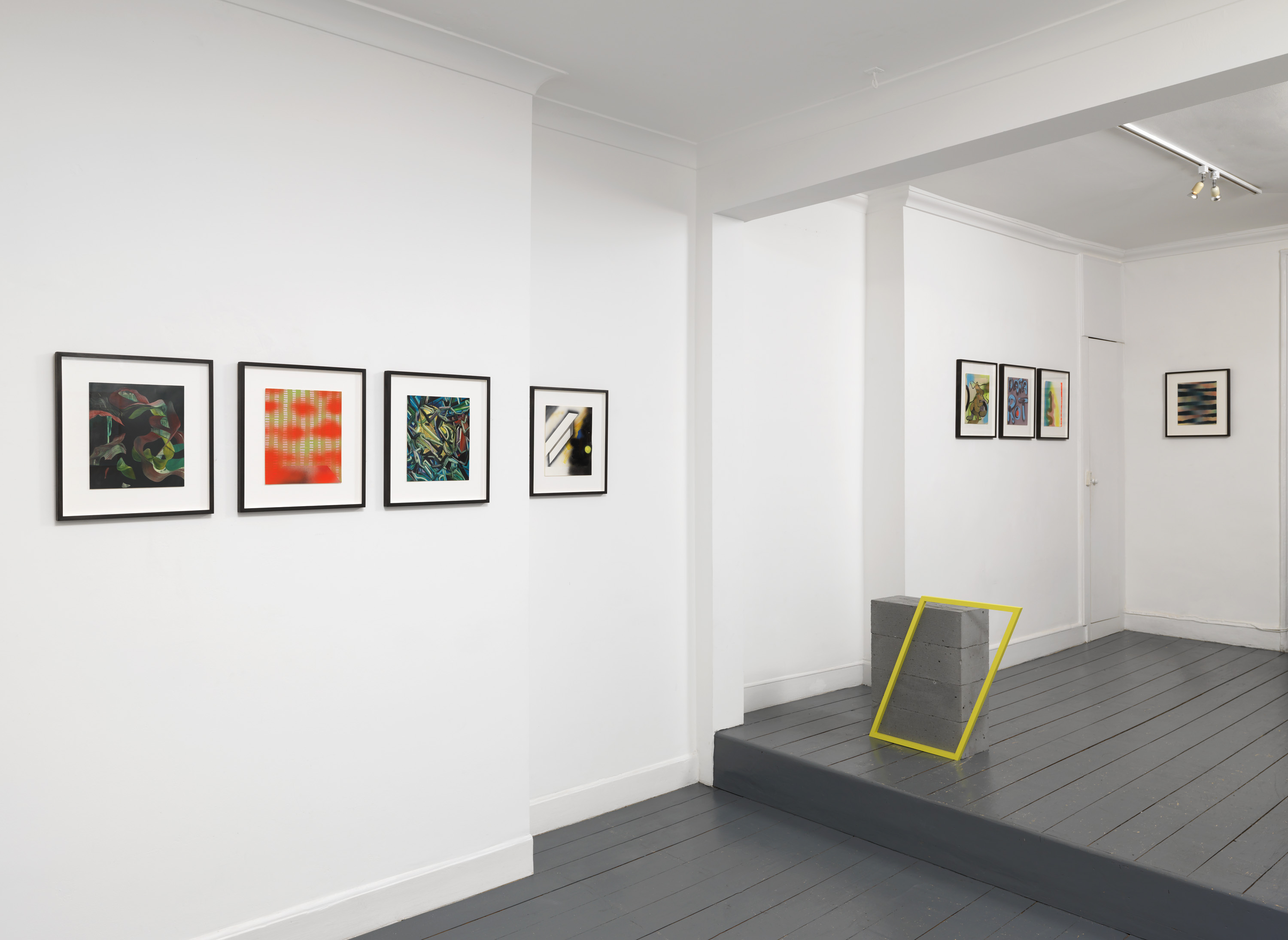 Soft Errors - installation shot - Andy Harper and Kate Terry