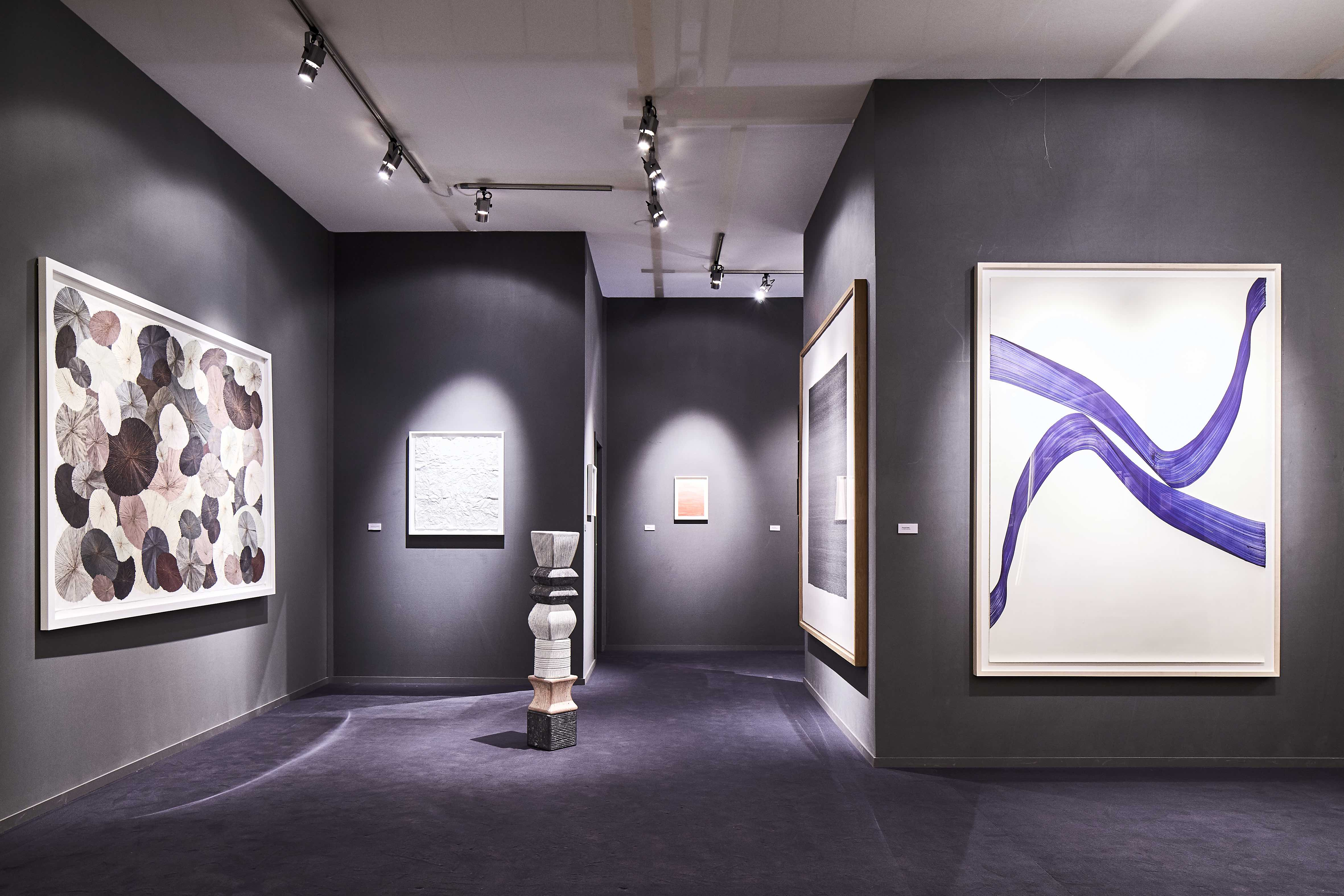Installation shot at TEFAF Maastricht 1