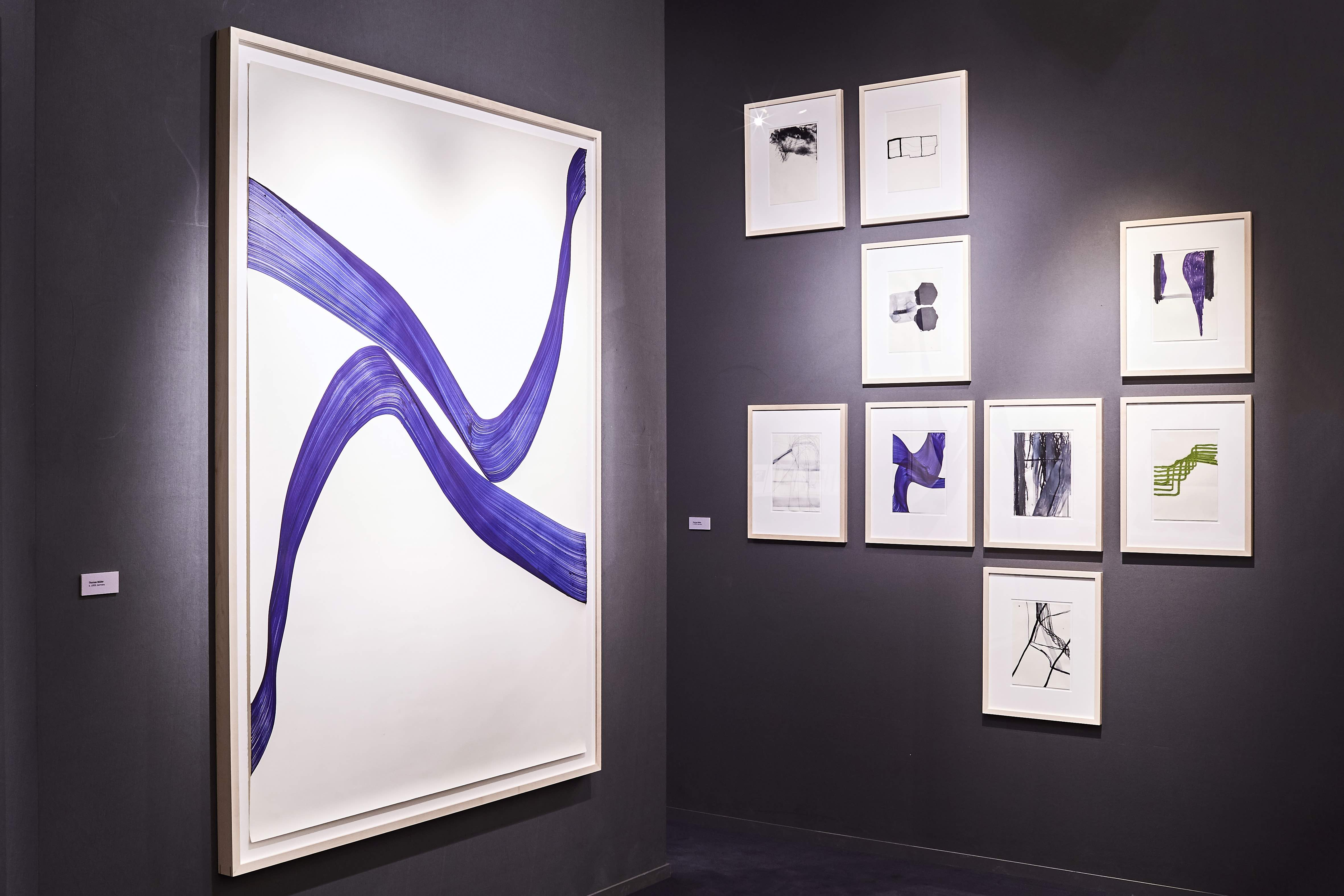 Installation shot at TEFAF Maastricht 3