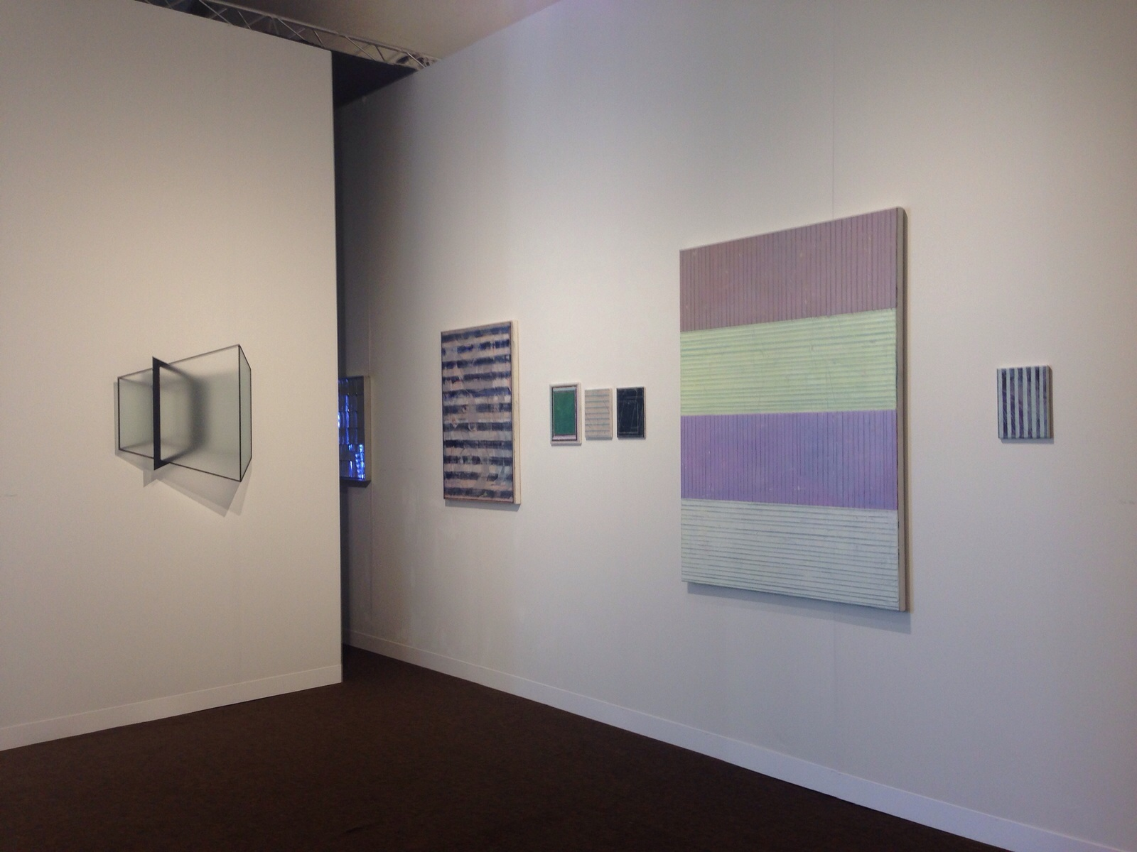 Reinoud Oudshoorn and Pius Fox; Installation view at Pulse Miami 2015