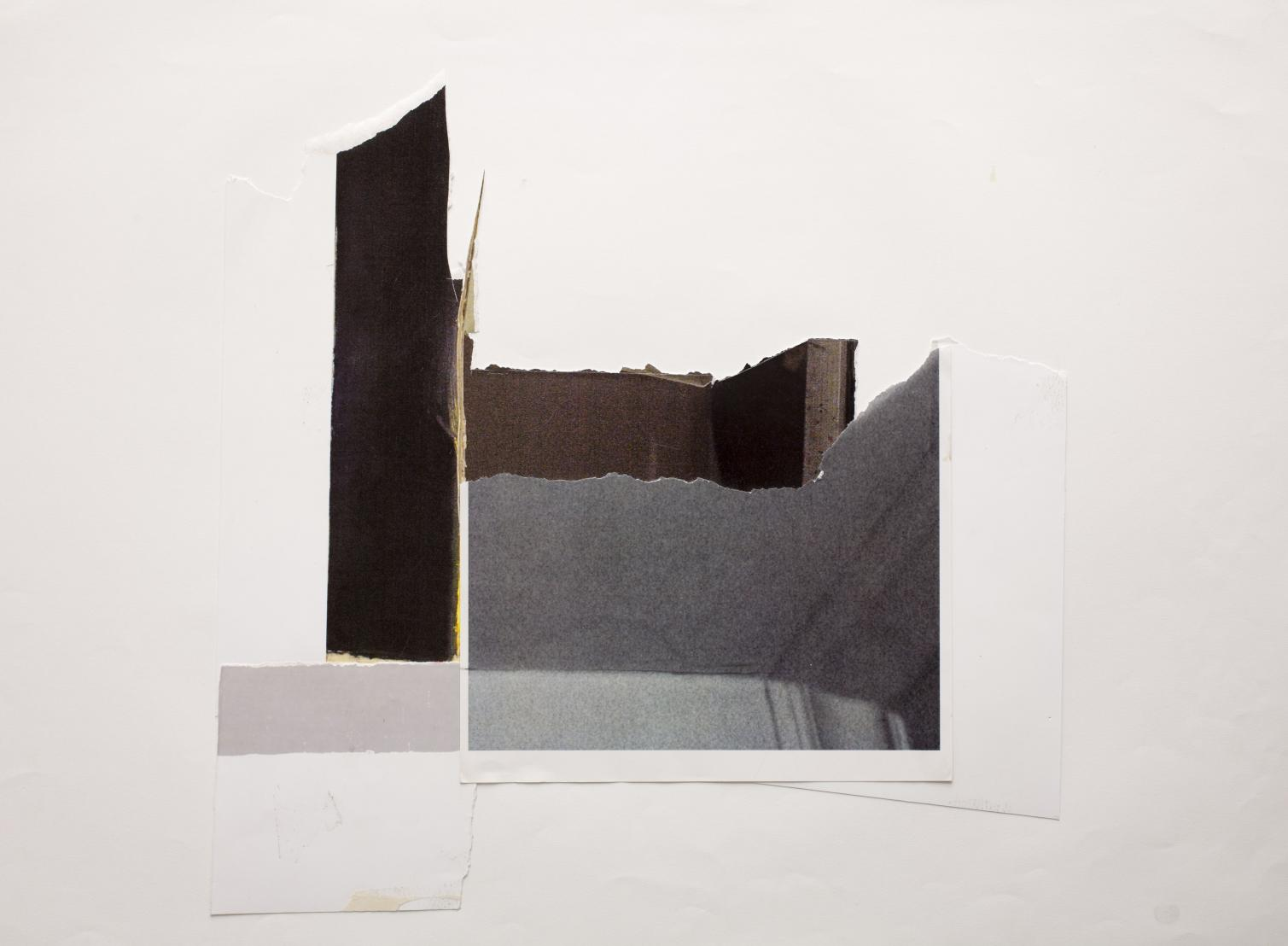 Diana Sirianni, Untitled 2 Inkjet and laser print 42 x 58.7 cm, 2008
